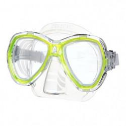 SEAC Masque de Plongée Elba - Adulte - Jaune