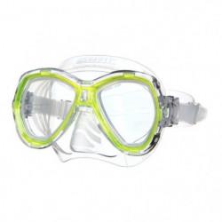 SEAC Masque de plongée Elba - Médium - Jaune