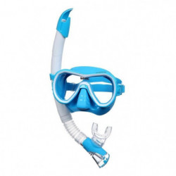 SEAC Masque et Tuba de plongée Giglio - Adulte - Bleu