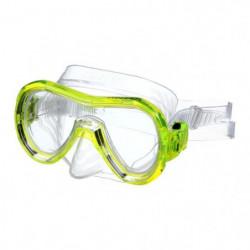 SEAC Masque de plongée Panarea Silter Clear - Médium - Jaune
