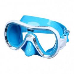 SEAC Masque de plongée Panarea Silter - Médium - Bleu
