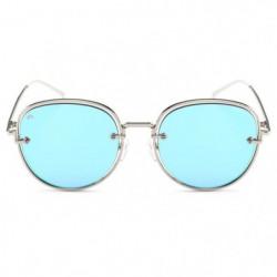 PRIVE REVAUX - Lunettes Aviators - Modele The Escobar Bleu M