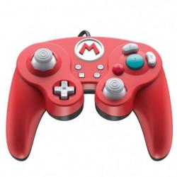 Manette filaire Super Smash Bros: Mario pour Switch