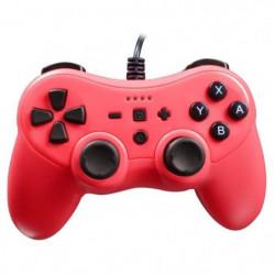Manette Rouge Néon pour console Nintendo Switch