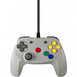 Manette filaire Under Control Nintendo 64 - 2M - Grise