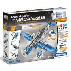 CLEMENTONI Mon Atelier de Mécanique - Avions et hélicopteres