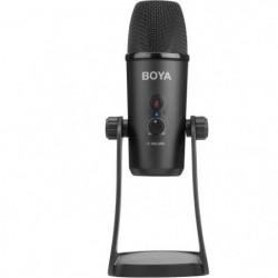 BOYA PM700 Microphone de studio - Cable micro et USB - Compa