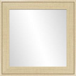 Miroir Ds - MDF -  50x50 cm - Beige