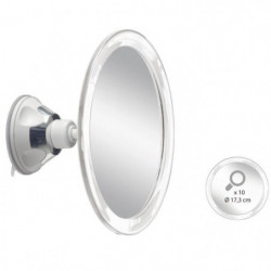 Miroir grossissant x10 AUTONOMIE ET BIEN eTRE TMI 6878 - Fix