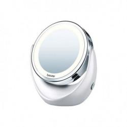 Miroir cosmétique rotatif | avec lumiere LED et augmentation