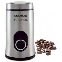 TAURUS 908503 Moulin a café électrique Aromatic 150 - Inox