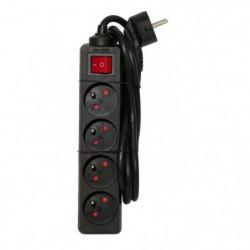 CHACON Bloc multiprise avec interrupteur 4 prises 16A 1,5m n