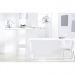 TODAY Nappe rectangulaire 140x200 cm - Blanc chantilly