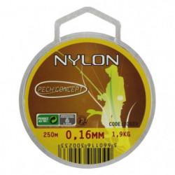 PECH'CONCEPT Nylon Transparent 16/100 250M