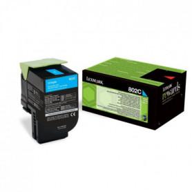 LEXMARK Cartouche de toner 802C - Faible Capacité