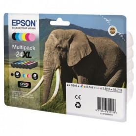 """Cartouche Epson """"Eléphant"""" - T24 6 couleurs"""
