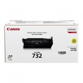 CANON Pack de 1 cartouche de toner - 732-Y - Jaune