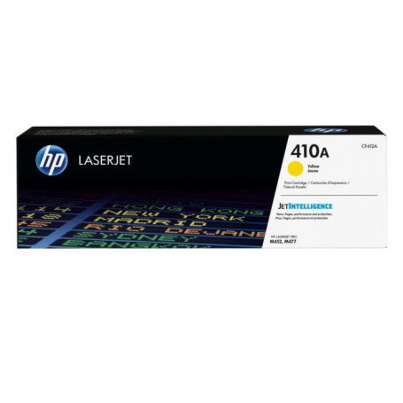 HP 410A Toner Jaune authentique (CF412A)