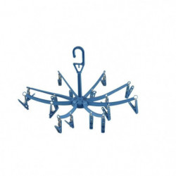 CAO CAMPING Séchoir parapluie - Bleu