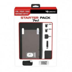 Pack d'accessoires 7 en 1 pour console Nintendo Switch