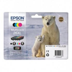 EPSON Cartouche 26XL - Noir et tricolore - 41.3 ml