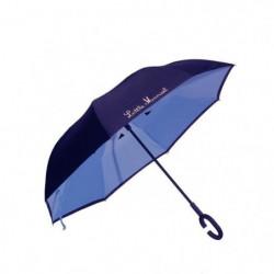 LITTLE MARCEL Parapluie inversé Polka Bleu