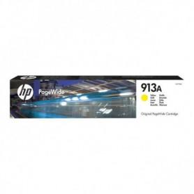 HP Cartouche d'encre 913A  - Jaune