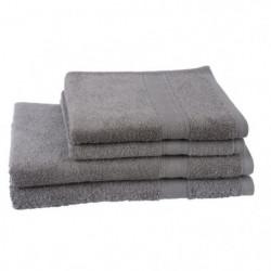 JULES CLARYSSE Lot de 2 serviettes + 2 draps de bain Éléganc