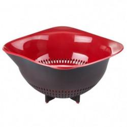 TEFAL INGENIO Passoire K2070614 noir et rouge