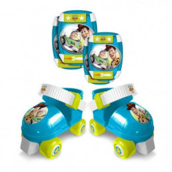 TOY STORY 4 Set patins a roulettes + coudieres + genouillere