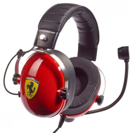 THRUSTMASTER Casque gaming T.Racing Scuderia Ferra