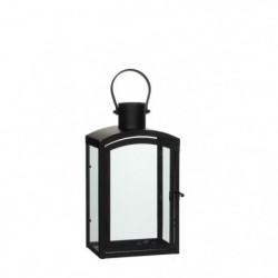 EDELMAN Lanterne Noire - Fer - L17,5 x l11,5 x H30 cm