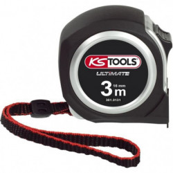 KS TOOLS Metre a ruban Bi-matiere ULTIMATE, 3x16 mm