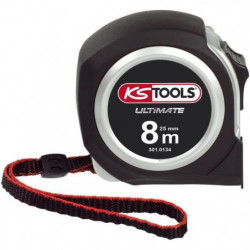 KS TOOLS Metre a ruban Bi-matiere ULTIMATE, 8x25 mm