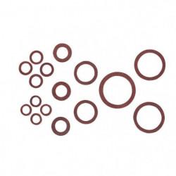 WIRQUIN Coffret de 24 joints fibre JJP1002C - 4 formats