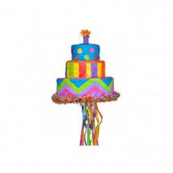 AMSCAN Pinata Gâteau d'anniversaire