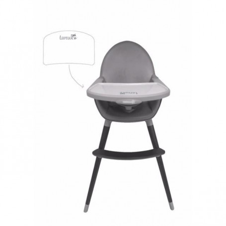 TANUKI Chaise haute Basic Black Edition
