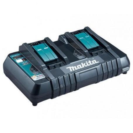 MAKITA Chargeur rapide pour 2 batteries Li-ion