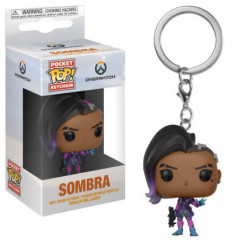 Porte-clé Funko Pocket Pop! Overwatch: Sombra