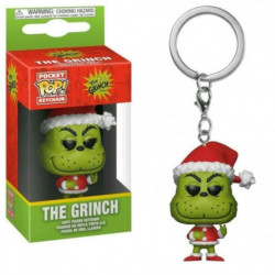Porte-clés Funko Pocket Pop! Grinch: Grinch (Noël)