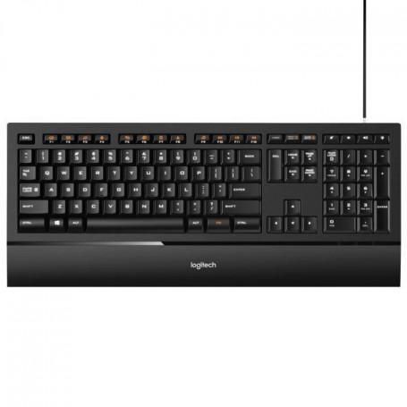 Logitech clavier rétroéclairé filaire - K740