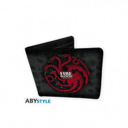 Portefeuille Game Of Thrones - Targaryen - Vinyle - ABYstyle
