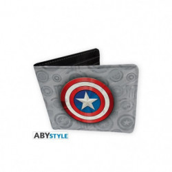 Portefeuille Marvel - Captain America - Vinyle - ABYstyle
