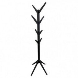 THE HOME DECO FACTORY Porte-manteau arbre en bois naturel -
