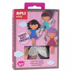 APLI Mini kit Best friend fée - En mousse EVA