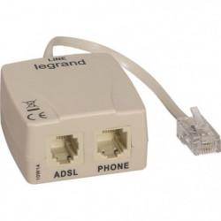 LEGRAND Filtre ADSL pour prise RJ 45