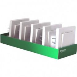 SCHNEIDER ELECTRIC - ASFORA - Lot de 5 interrupteurs va-et-v
