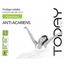 TODAY Protege Matelas / Alese Absorbant Anti-Acariens 140x19