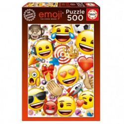 EDUCA - Puzzle EMOJI 500 pcs