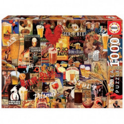 EDUCA  1000 collage biere vint